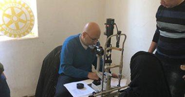 """""""حق الإبصار"""" حملة لروتاري قصر النيل لحماية السيدات من خطر فقدان البصر"""