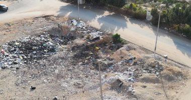 قارئ يشكو انتشار القمامة بشارع مدرسة الأمير فى الخصوص