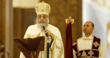 البابا تواضروس يترأس صلوات المزامير بالكاتدرائية صباح السبت