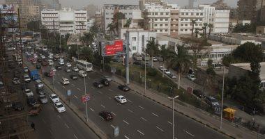 رياح مثيرة للأتربة بالقاهرة والجيزة