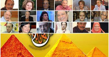 25 فنانا مسرحيا يتحدثون عن تجاربهم فى مؤتمر صحفى بمهرجان المسرح العربى