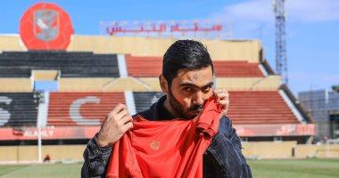 اتحاد الكرة يعلن قيد حسين الشحات فى قائمة الأهلى
