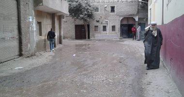 قارئ يشكو كسر ماسورة مياه بشارع حسين أبو النجا بزهراء مصر القديمة