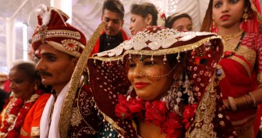 حفل زفاف جماعى للهندوس فى كراتشى