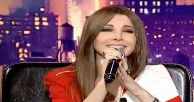 """نانسى عجرم تستقبل العاصفة """"  نورما """"  بأغنية لفيروز ..فيديو"""