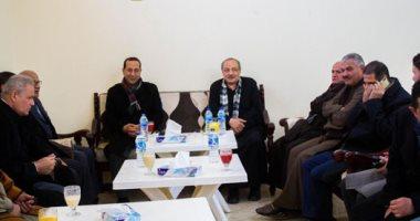 إجماع نواب دائرة أشمون علي تأييد احمد الخشن لعضوية البرلمان