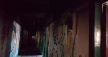 صور.. إصابة 14 حالة بالاختناق فى حريق حضانة الشابات المسلمات بأسيوط