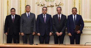 صور.. رئيس الوزراء يشهد توقيع اتفاقية مشروع تنقية مياه مصرف كيتشنر بـ148مليون يورو