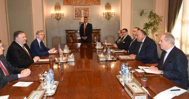 وزير الخارجية الأمريكى: مصر وأمريكا سيعززان العمل فى الشرق الأوسط