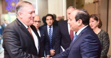 وزير الخارجية الأمريكى: الرئيس السيسي يدعم الحريات الدينية