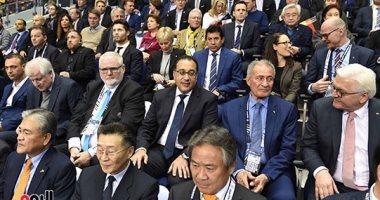 رئيس الوزراء يشهد افتتاح بطولة العالم لكرة اليد للرجال