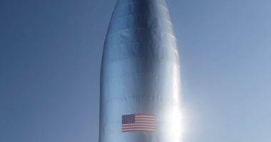 """""""إيلون موسك"""" يكشف عن صورة جديدة لصاروخ يمكنه حمل البشر للمريخ"""