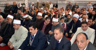 محافظ القليوبية يفتتح مسجد المشايخ بقرية الرملة بتكلفة 2 مليون جنيه