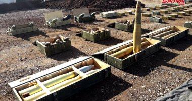 صور.. سوريا تعثر على أسلحة وذخائر بريطانية فى مناطق حررتها من الإرهابيين
