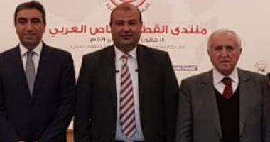 خالد حنفى يبحث مع وفد لبنانى تحضيرات منتدى القطاع الخاص العربى