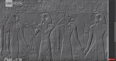 شاهد.. طباعة ثلاثية الأبعاد لقبر فرعونى فى سويسرا