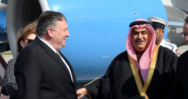العاهل البحريني يبحث مع وزير الخارجية الأمريكي التطورات في المنطقة