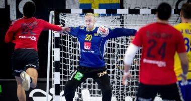 الشوط الأول.. مصر تتأخر 13-11 أمام  السويد فى كأس العالم لليد .. فيديو