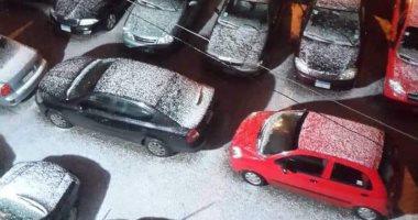 نروح من البرد فين.. اعرف حقيقة صورة تساقط الثلوج فى الإسكندرية