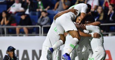 """السعودية تتأهل """"إكلينيكيا"""" لثمن نهائي كأس آسيا بثنائية ضد لبنان.. فيديو"""