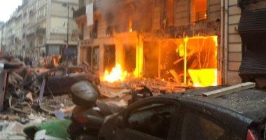 صور.. انفجار ضخم فى العاصمة الفرنسية باريس