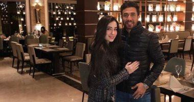 اعرف ماذا قال محمود تريزيجيه لزوجته فى عيد ميلادها الأول بعد زفافهما؟