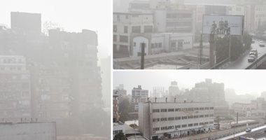 """""""الأرصاد"""" تكشف موعد انتهاء سوء الأحوال الجوية والعاصفة الترابية"""