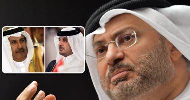 قرقاش: إعلام قطر يروج أخبارا كاذبة
