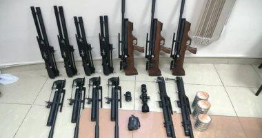 ضبط 223 قطعة سلاح بينها جرينوف ورشاشات فى مداهمات أمنية