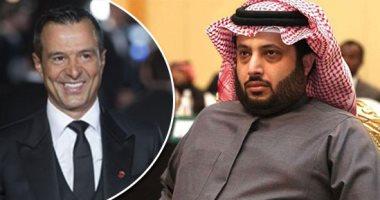 تركى آل الشيخ يستعد لإبرام صفقة نارية مع أهم وكيل لاعبين فى العالم