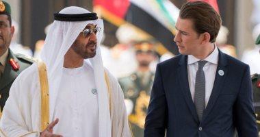 ولى عهد أبو ظبى يتلقى اتصالا من الرئيس النمساوى لبحث التعاون المشترك
