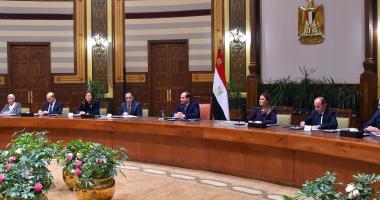 السيسي يستقبل الوفد الاستثمارى المشارك فى أعمال مؤتمر الاستثمار الثالث لمنطقة الشرق الأوسط