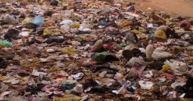 بالصور.. قارئ يشكو انتشار القمامة بعزبة عبداللطيف حسانين بالشرقية