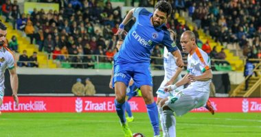 تريزيجيه يشارك فى تعادل قاسم باشا مع ألانيا سبور فى كأس تركيا