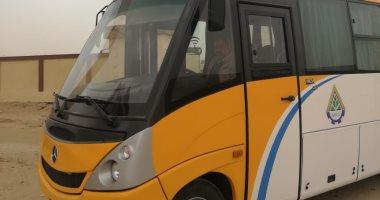 بدء التشغيل التجريبى لمنظومة النقل الداخلى بمدينة القاهرة الجديدة