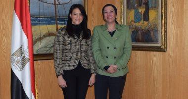 وزيرتا السياحة والبيئة تناقشان آليات تحقيق السياحة المستدامة