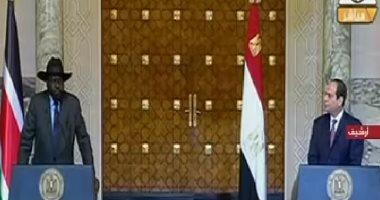 الرئيس السيسي يؤكد التزام مصر تجاه جنوب السودان