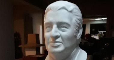 شاهد تمثالا جديدا لـ إحسان عبد القدوس بمناسبة ذكرى مئوية ميلاده