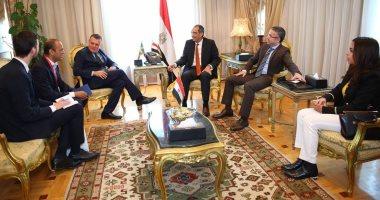 وزير الاتصالات يبحث إنشاء مركز مصرى سويدى لتطوير الألعاب الإلكترونية