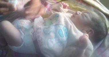 العثور على طفل حديث الولادة فى زراعات القصب بمدينة إسنا