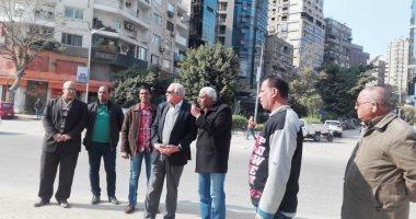 صور ..محافظ الجيزة يتفقد توسعات شارع جامعة الدول العربية