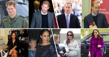 10yearschallenge.. شوف تطور حياة أفراد العائلة المالكة البريطانية فى التحدى