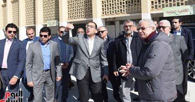 صور.. رئيس الوزراء يتفقد المنشآت الرياضية باستاد القاهرة استعداد لبطولة أمم أفريقيا