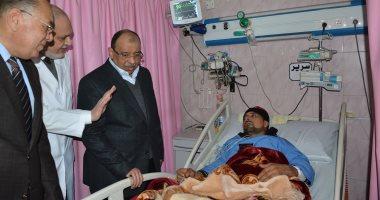 فيديو وصور.. وزير التنمية المحلية يتفقد وحدة قسطرة القلب بمستشفى الزقازيق العام
