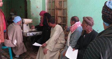 الكشف على 1327 مواطن بالقافلة الطبية العلاجية بقرية الخطاطبة بالمنوفية