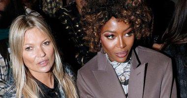 """باتينسون و""""لى لى ألين"""" وموس وكامبل أبرز حضور عرض Dior فى باريس"""