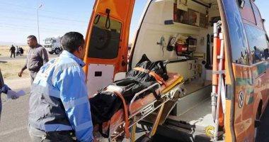 صور.. مصرع طفل وإصابة 3 آخرين فى حادث تصادم بالسويس