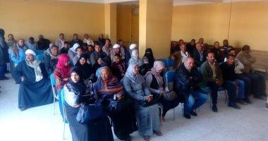 صور.. وحدة حقوق الإنسان بقنا تبدأ فعاليات عملها بندوة تعريفية فى قرية القناوية