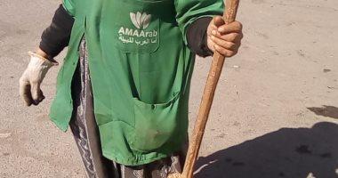 """قصة كفاح """"صبيرة"""" عاملة نظافة من الشرقية.. تسافر يوميا للعمل بمدينة العاشر"""