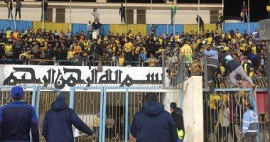 حبس 24 شخصا فى أحداث شغب استاد الإسماعيلية والإفراج عن 26 آخرين بينهم طفل